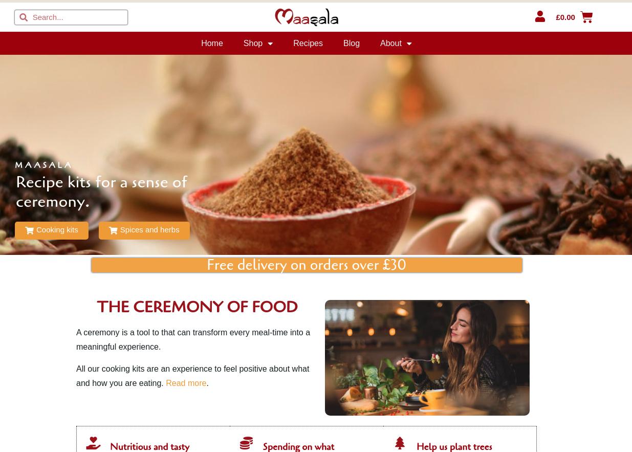 Maasala home page